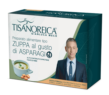 TISANOREICA ZUPPA ASPARAGI VEGAN 34 G X 4 2020 - Farmaseller