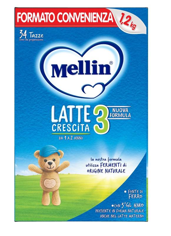 MELLIN LATTE CRESCITA 3 1,2 KG - Farmaseller