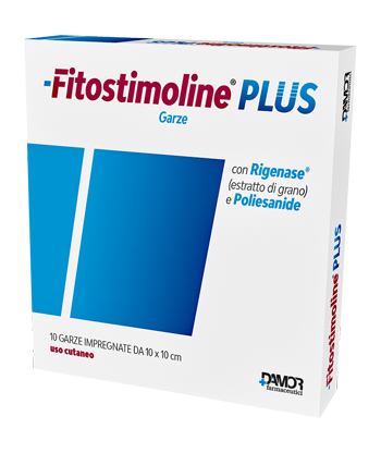 FITOSTIMOLINE PLUS  GARZA 10 X 10 CM - Farmafamily.it