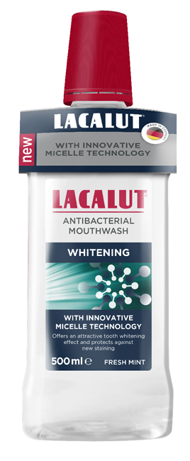 LACALUT COLLUTORIO MICELLARE WHITENING 500 ML - Farmapage.it