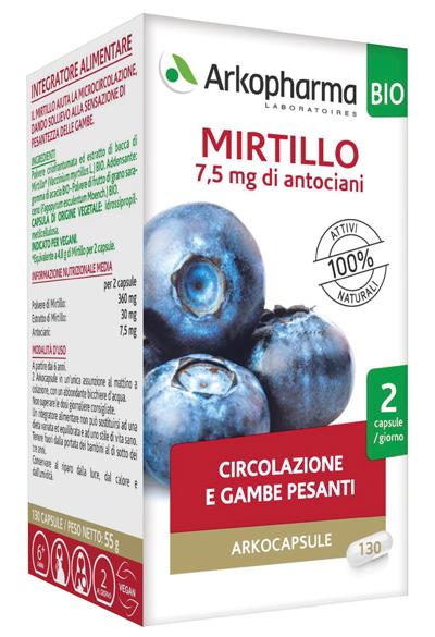 ARKOCAPSULE MIRTILLO BIO 40 CAPSULE - Farmaseller