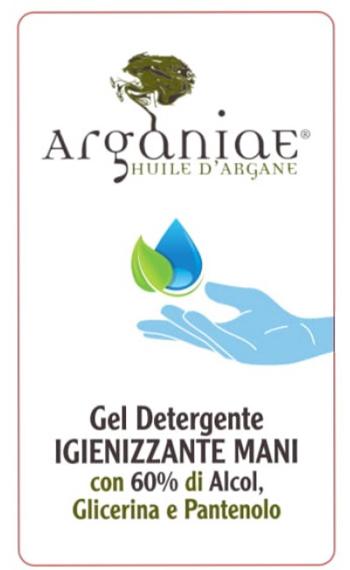 ARGANIAE GEL IGIENIZZANTE MANI 80 ML - Farmafamily.it