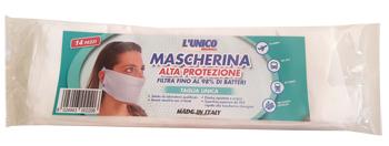 L'UNICO ORIGINALE MASCHERINA IN TESSUTO NON TESSUTO 14 PEZZI - FARMAPRIME