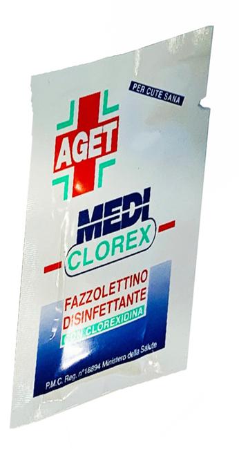 MEDICLOREX FAZZOLETTO DISINFETTANTE 1 PEZZO - Speedyfarma.it