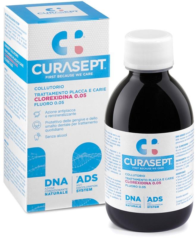CURASEPT COLLUTORIO 0,05 ADS + DNA 200 ML - Farmaseller