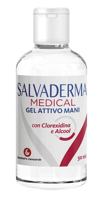 SALVADERMA MEDICAL GEL ATTIVO MANI 50 ML - Farmacia Puddu Baire S.r.l.