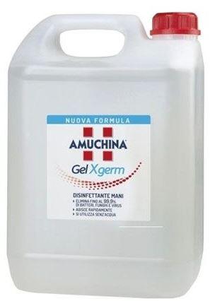 AMUCHINA GEL X-GERM DISINFETTANTE MANI 5 LITRI - Farmapage.it