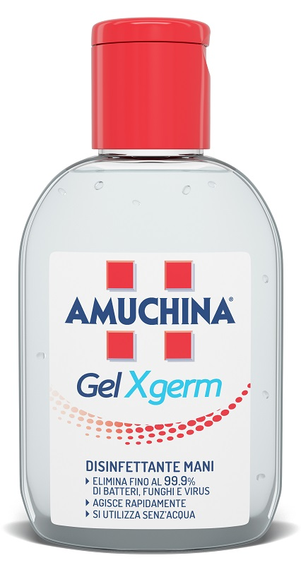 AMUCHINA GEL X-GERM DISINFETTANTE MANI 30 ML - Farmastar.it