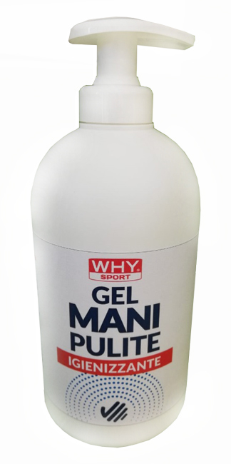WHYSPORT GEL MANI PULITE IGIENIZZANTE 500 ML - farmaciafalquigolfoparadiso.it
