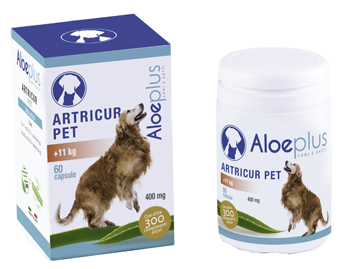 ALOEPLUS ARTRICUR PET CANI +11 KG 27 G 60 CAPSULE - Farmaseller