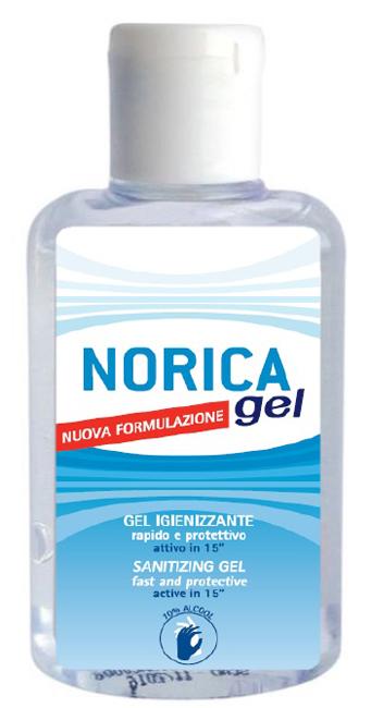 NORICA GEL IGIENIZZANTE MANI NUOVA FORMULAZIONE 80 ML - Farmafamily.it