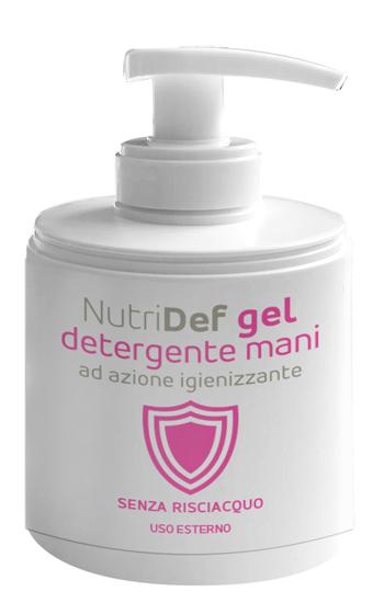 NUTRIDEF GEL DETERGENTE IGIENIZZANTE  MANI 200 ML - FARMAEMPORIO