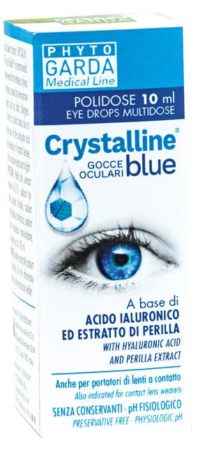 CRYSTALLINE BLUE GOCCE POLIDOSE 10 ML - Farmaseller