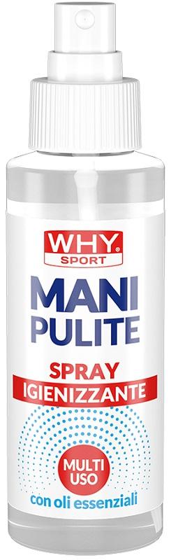 WHYSPORT MANI PULITE SPRAY 100 ML - farmaciafalquigolfoparadiso.it