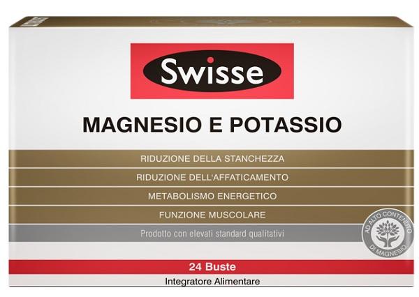 SWISSE MAGNESIO POTASSIO 24 BUSTINE - Zfarmacia