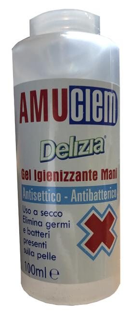 AMUCLEM GEL IGIENIZZANTE MANI 100 ML - Farmaseller