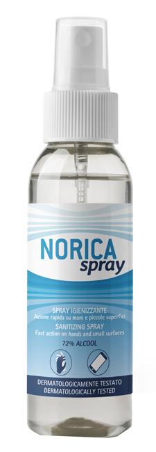 NORICA SPRAY IGIENIZZANTE 100 ML - Farmaseller