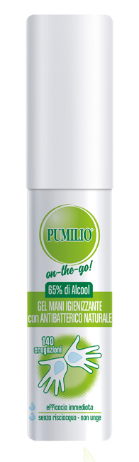 PUMILIO GEL IGIENIZZANTE MANI 25 ML - Farmafamily.it