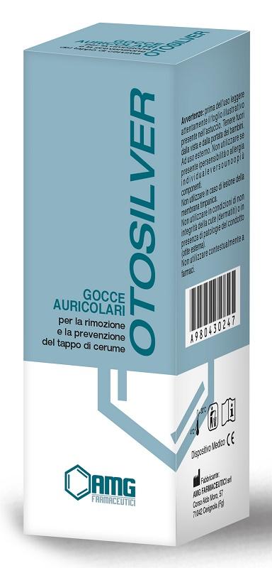 GOCCE AURICOLARI OTOSILVER 20 ML - Farmaseller