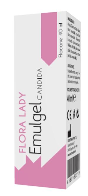 FLORA LADY EMULGEL CANDIDA GEL VAGINALE 40 ML + 5 CANNULE MONOUSO - Farmaseller