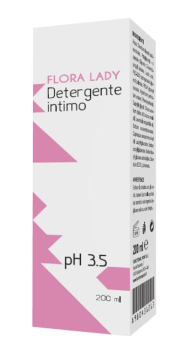 FLORA LADY DETERGENTE INTIMO PH 3,5 200 ML - Farmaseller