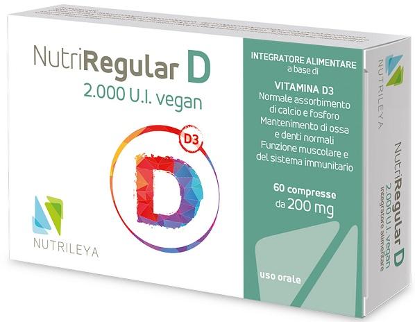 NUTRIREGULAR D 2000UI VEGAN 60 COMPRESSE - Farmaseller
