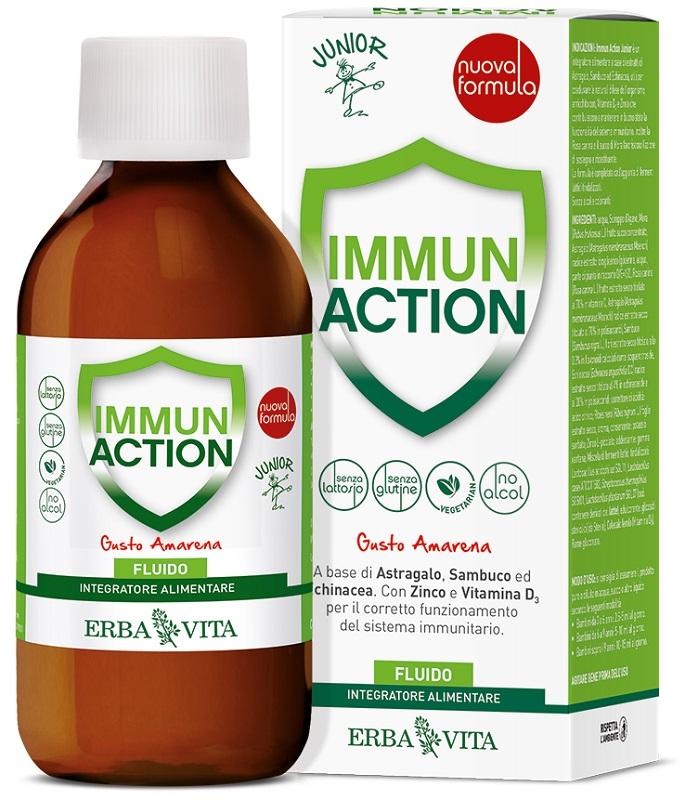 IMMUN ACTION FLUIDO JUNIOR 200 ML - Farmaseller