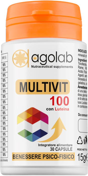 MULTIVIT 100 30 CAPSULE - Farmafirst.it