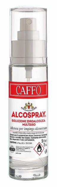 CAFFO ALCOSPRAY SOLUZIONE IDROALCOLICA MULTIUSO 50 ML - Farmaseller