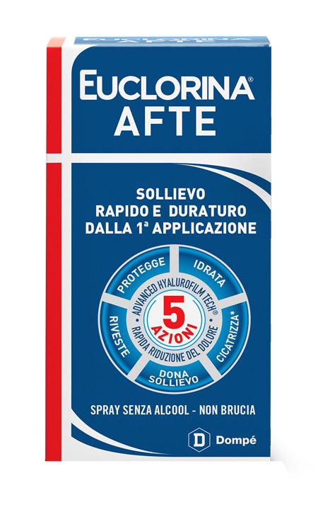 EUCLORINA AFTE SPRAY 15 ML - Farmafamily.it
