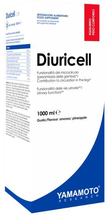 YAMAMOTO RESEARCH DIURICELL 1 LITRO ARANCIA LIMONE - Farmacia Massaro