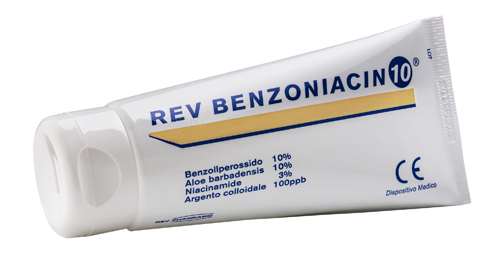 REV BENZONIACIN 10 CREMA 100  ML - Farmaseller