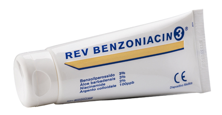 REV BENZONIACIN 3 CREMA 100 ML - Farmaseller