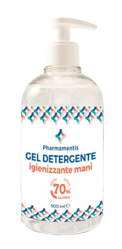 PHARMAMENTIS GEL DETERGENTE IGIENIZZANTE MANI 500 ML - Salutefarma.it