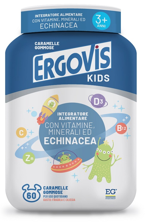 ERGOVIS KIDS 60 CARAMELLE GUSTOSE - Farmabenni.it