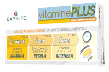 BARILIFE VITAMINE PLUS 30 COMPRESSE TRIFASE - Farmacia Massaro