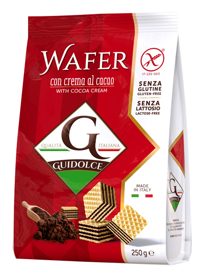 WAFER GUSTO CACAO 250 G - Farmaseller