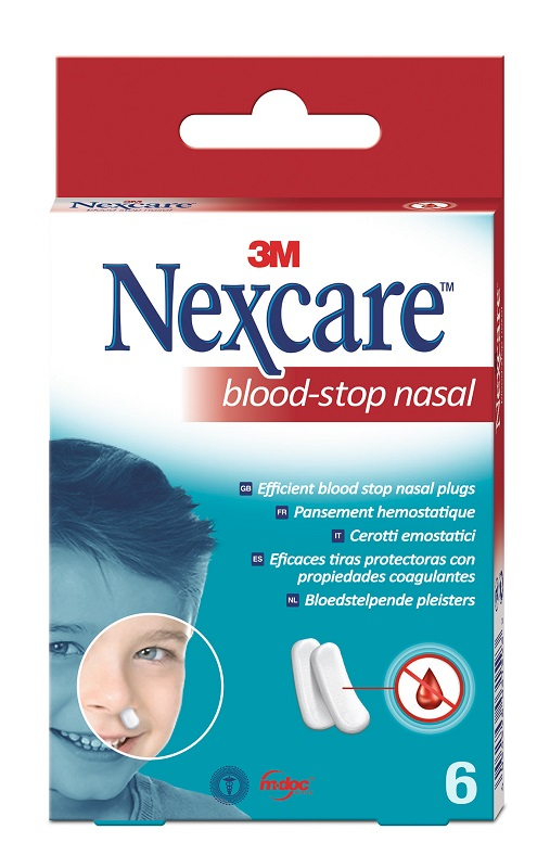 TAMPONI NASALI 3M NEXCARE BLOOD STOP N1700NP 6 PEZZI - Farmaseller