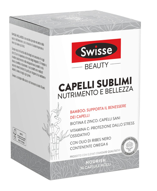 SWISSE CAPELLI SUBLIMI 30 CAPSULE - FARMAPRIME