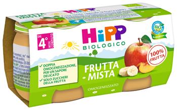 HiPP Bio Omogeneizzato Frutta Mista 2 x 80g - Arcafarma.it