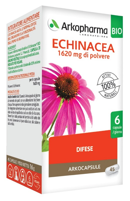 ARKOCPS ECHINACEA 45 CAPSULE BIO - Farmaseller