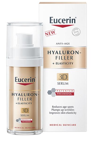 EUCERIN HYALURON-FILLER + ELASTICITY 3D SERUM 30 ML - Farmabaleno