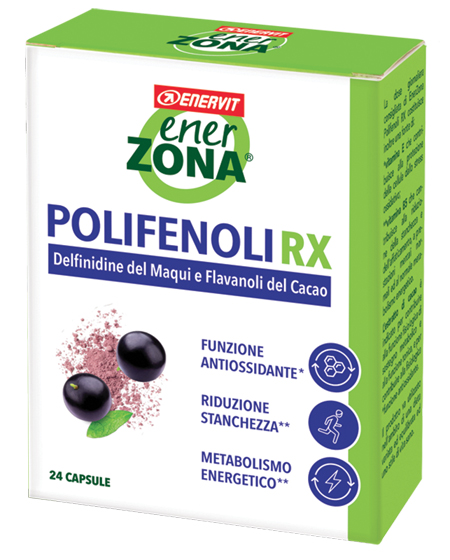 ENERZONA POLIFENOLI RX 24 CAPSULE - Spacefarma.it