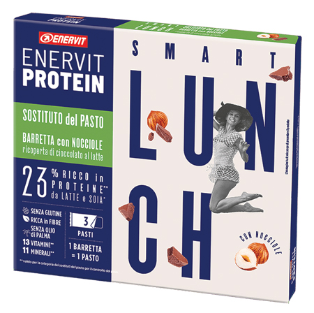 ENERVIT PROTEIN SOSTITUTO NOCCIOLA 3 BARRETTE 58 G - Farmaseller