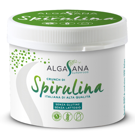 ALGASANA SPIRULINA CRUNCH 100 G - Farmaseller