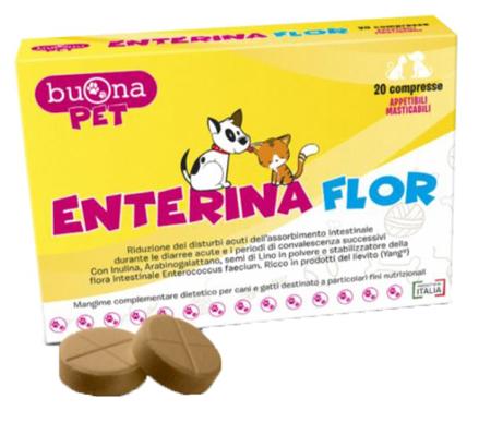 ENTERINA FLOR 20 COMPRESSE - Farmaseller