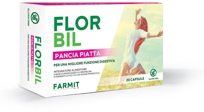 FLORBIL PANCIA PIATTA 20 CAPSULE - Farmaseller