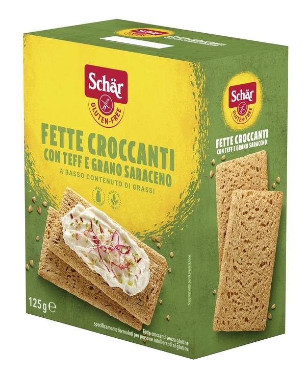 SCHAR FETTE CROCCANTI TEFF/GRANO SARACENO 125 G - Farmaseller