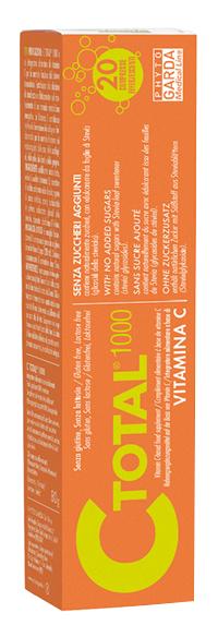 C TOTAL 1000 VITAMINA C 20 COMPRESSE EFFERVESCENTI - Farmavicinoate