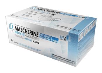 MASCHERINA CHIRURGICA MUNUS MEDICAL TAGLIA PICCOLA BAMBINI 6-12 ANNI TIPO II 10 PEZZI - Farmacia Massaro